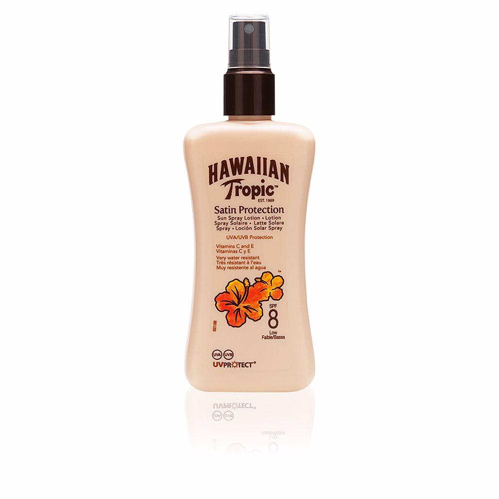 SATIN PROTECTION sun lotion SPF8 spray