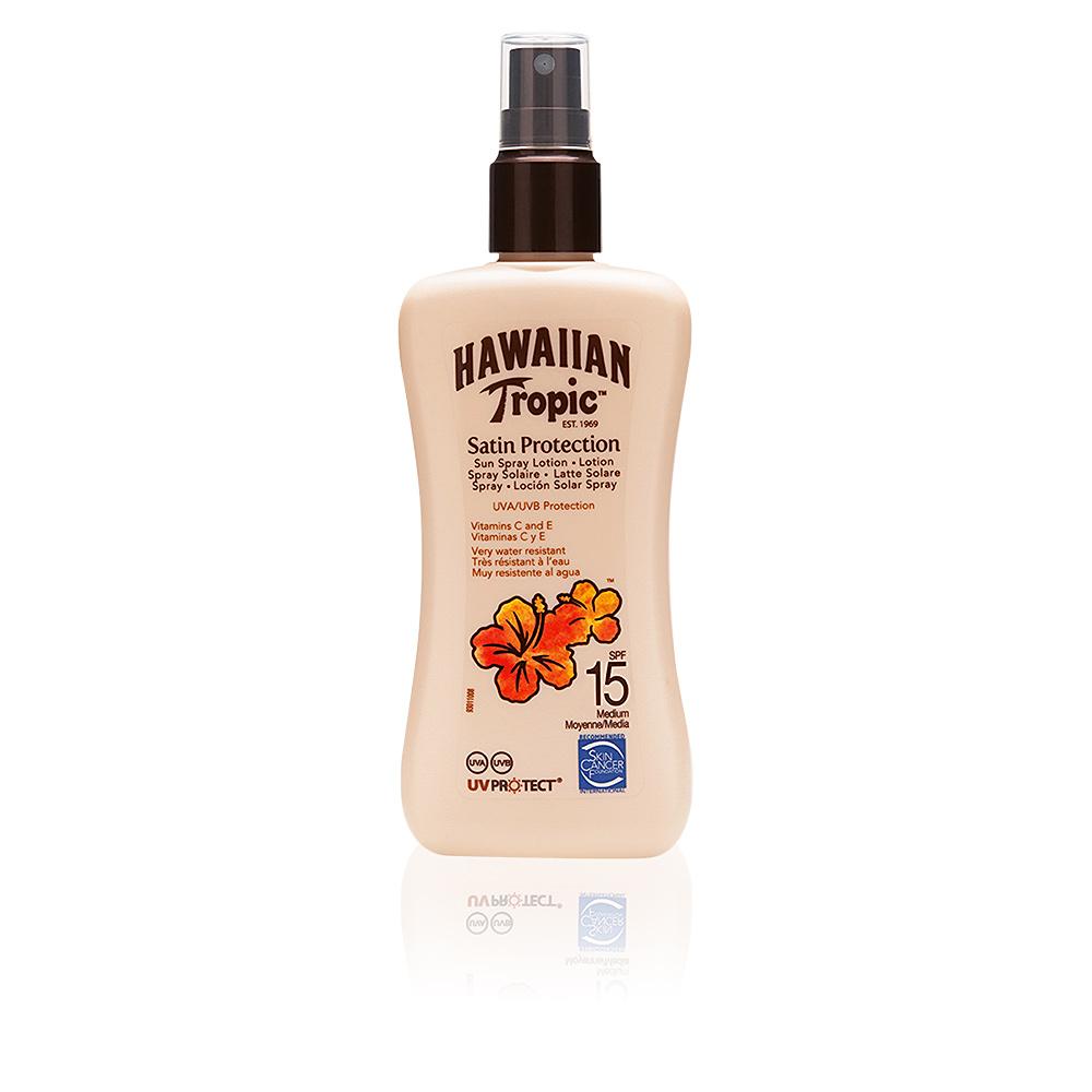 SATIN PROTECTION sun lotion spray SPF15