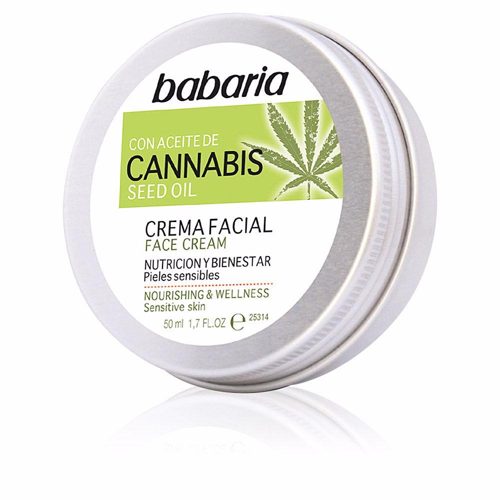CANNABIS crema facial nutrición y bienestar