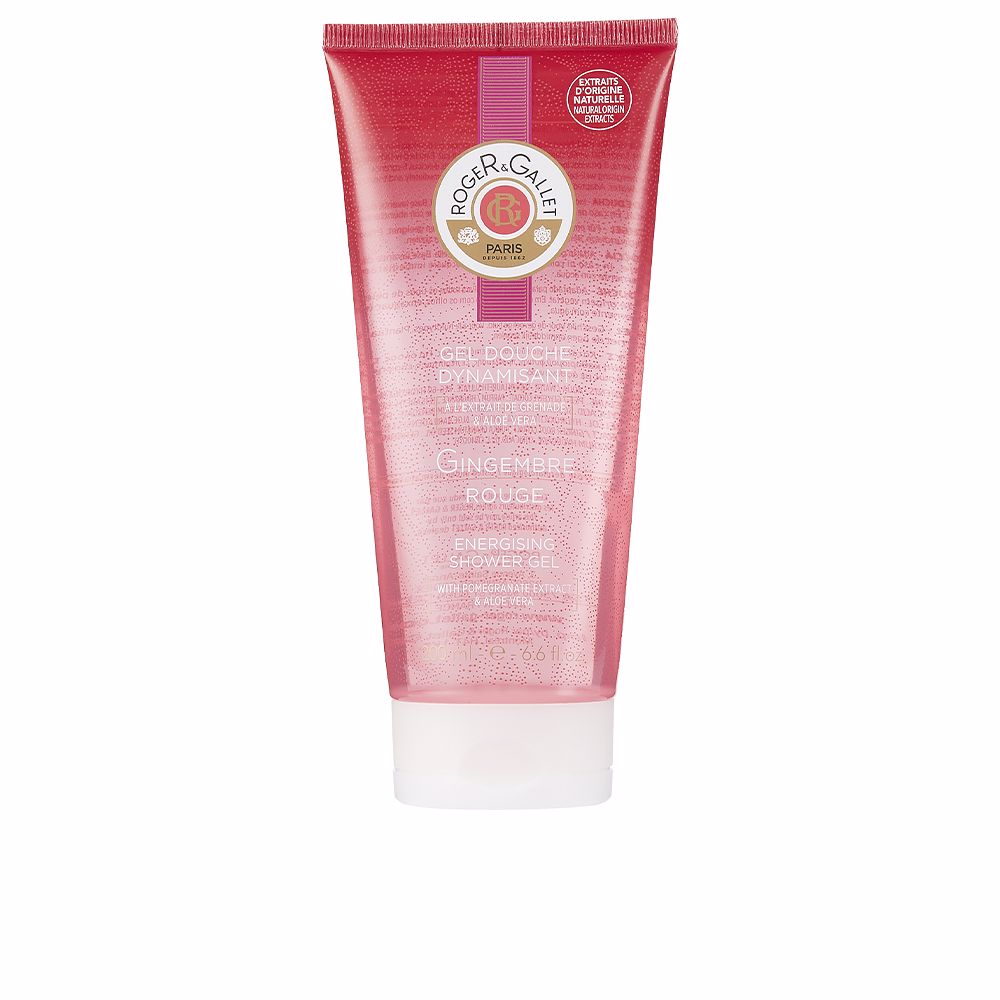 GINGEMBRE ROUGE gel douche dynamisant