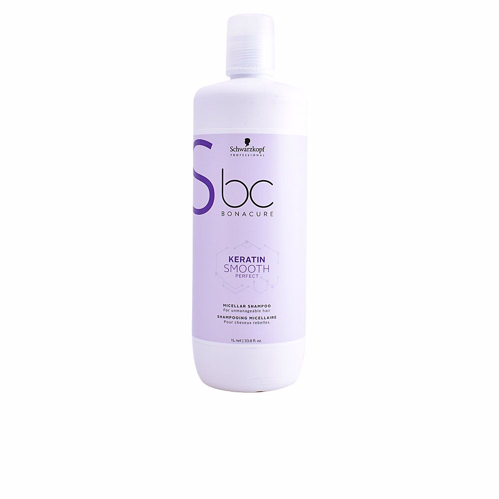 BC KERATIN SMOOTH PERFECT micellar shampoo