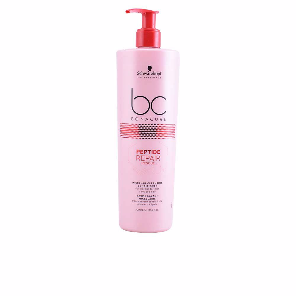 BC PEPTIDE REPAIR RESCUE micellar cleansing conditioner