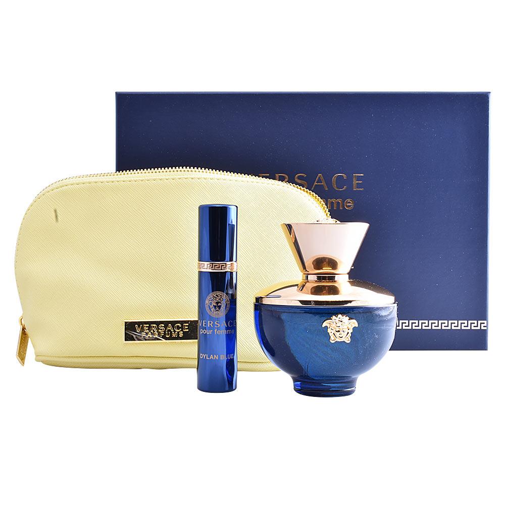 Versace Eau De Parfum Dylan Blue Femme Coffret Sur Perfumes Club