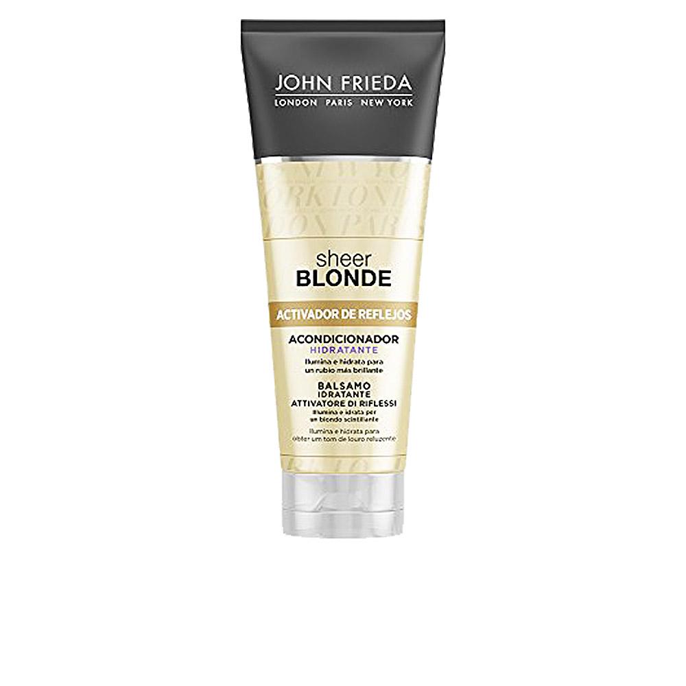 SHEER BLONDE acondicionador hidratante cabellos rubios