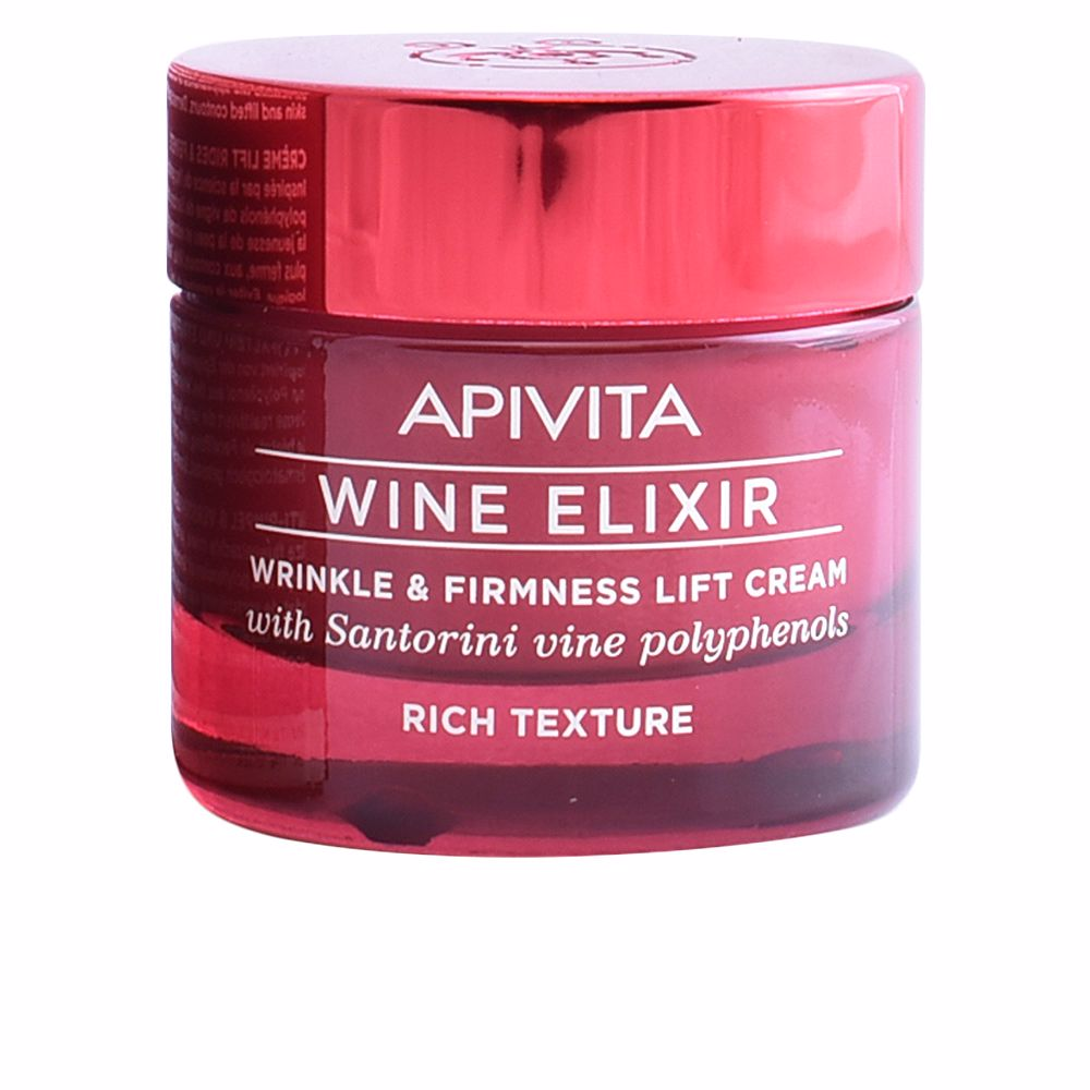 WINE ELIXIR wrinkle & firmness lift cream rich texture