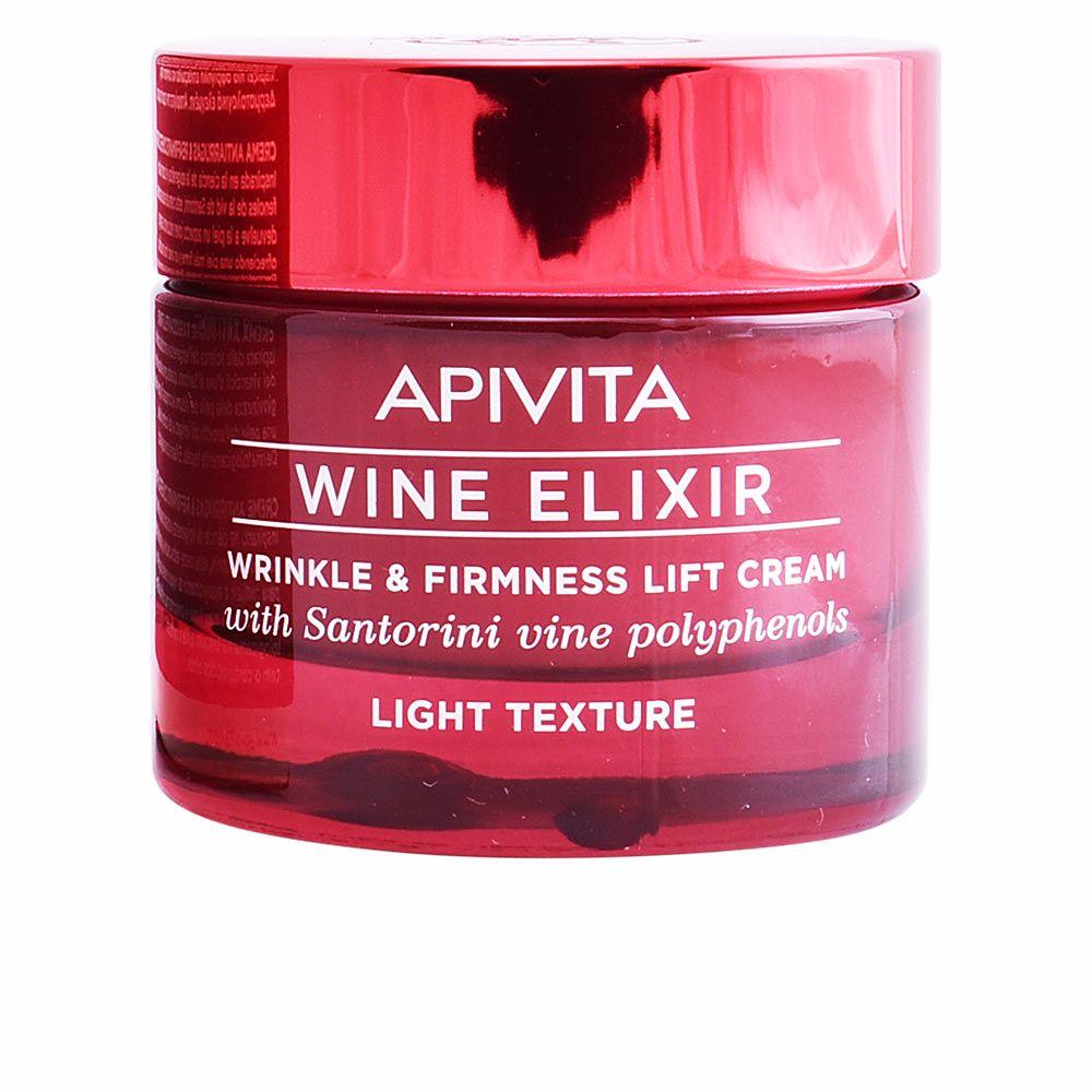 WINE ELIXIR wrinkle & firmness lift cream light texture