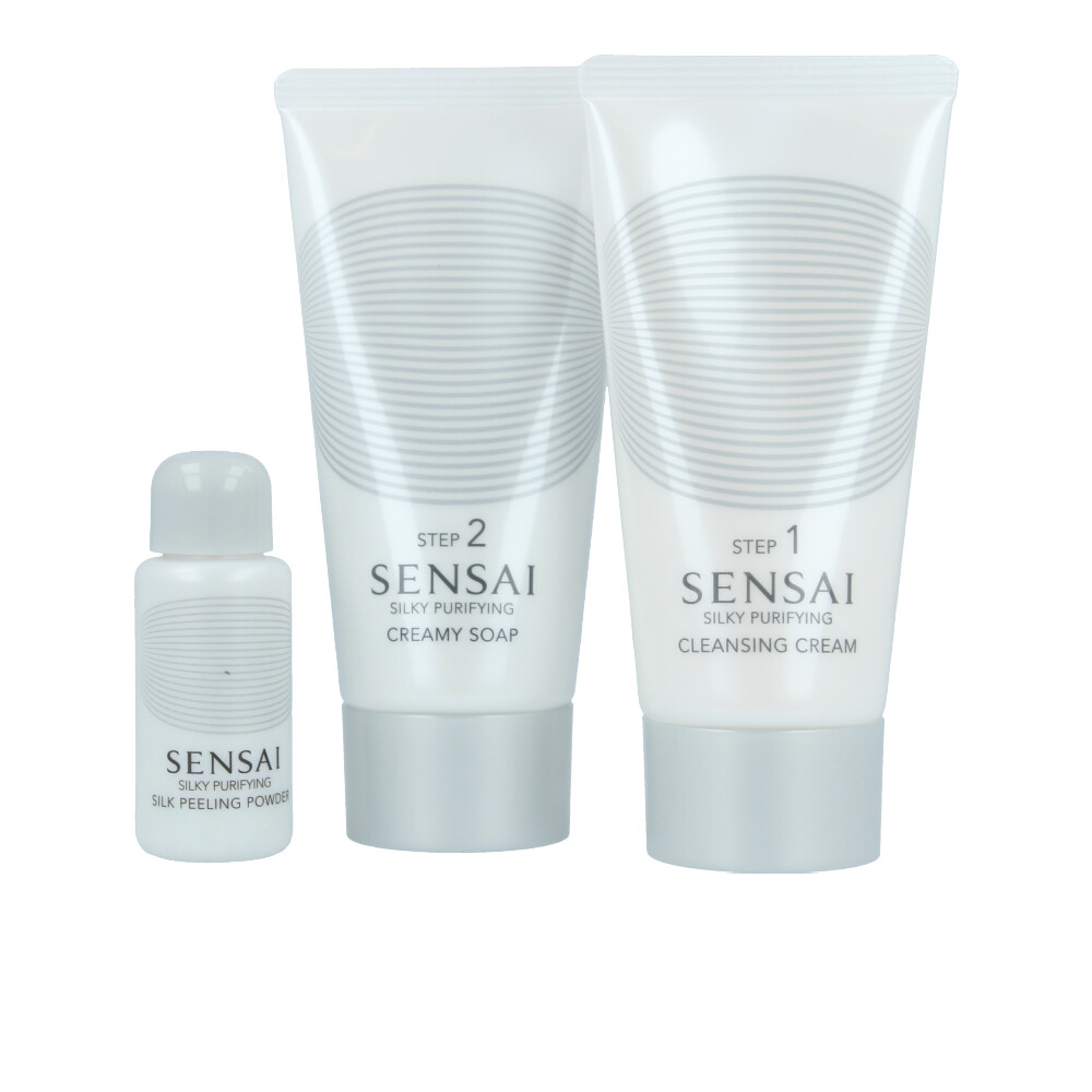 SENSAI SILKY PURIFYING DOUBLE CLEANSING COFFRET