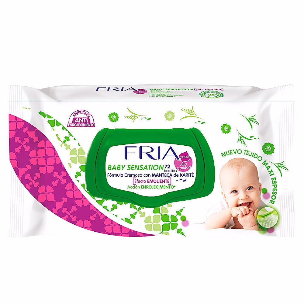 FRIA BABY SENSATION toallitas emolientes con tapa