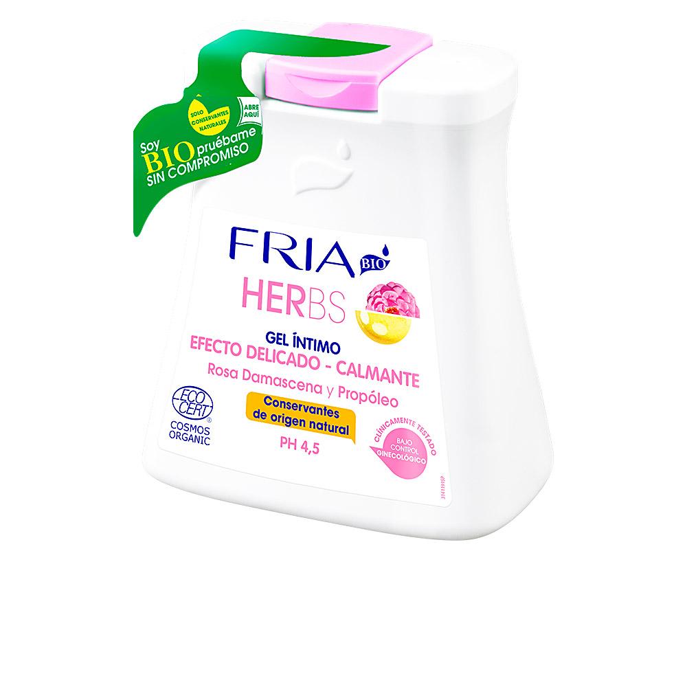 FRIA HERBS ECOCERT gel íntimo bio calmante PH 4,5