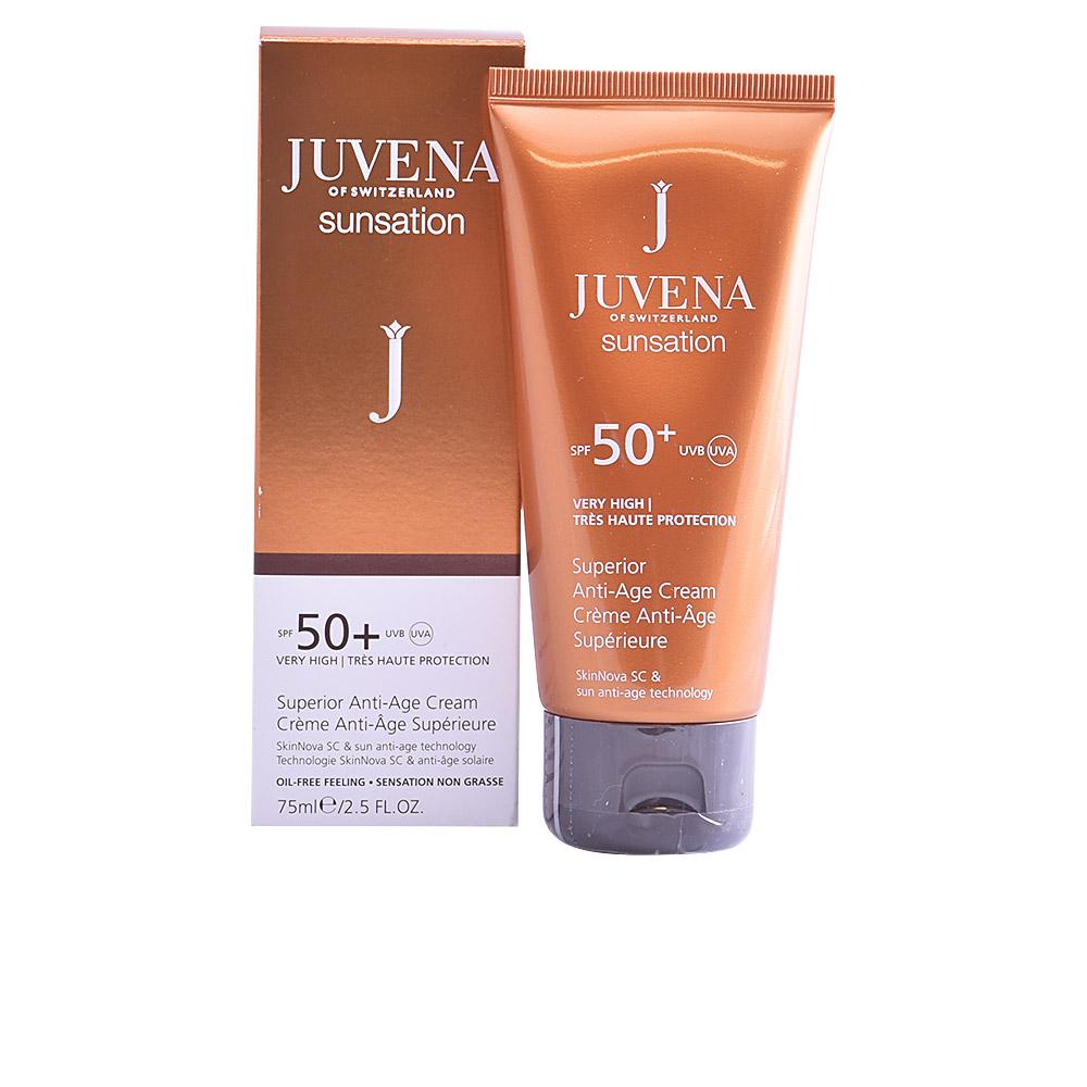 SUNSATION superior anti-age face cream SPF50+