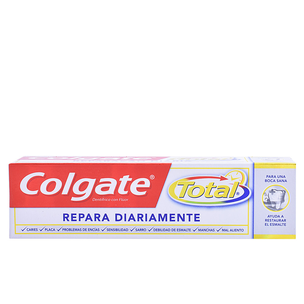 TOTAL REPARA DIARIAMENTE pasta dentífrica