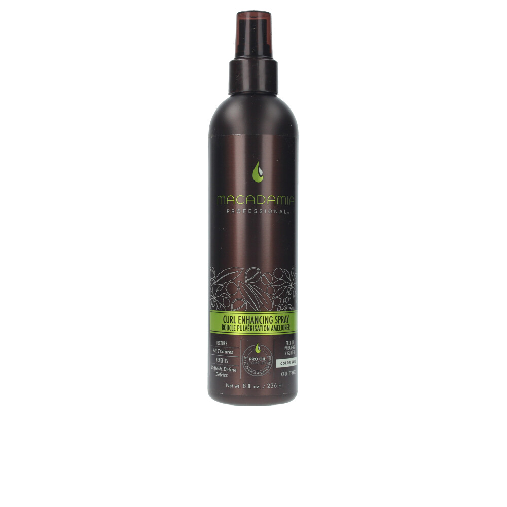 CURL enhancing spray