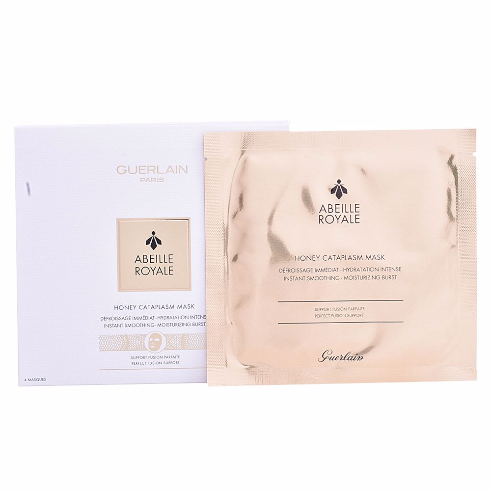 ABEILLE ROYALE honey cataplasm mask 4 u