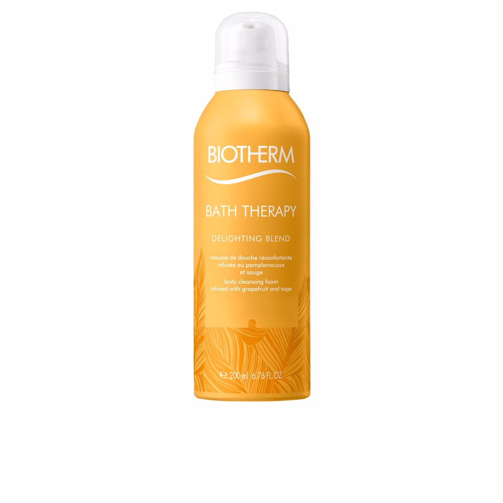 BATH THERAPY delightting blend body cleansing foam