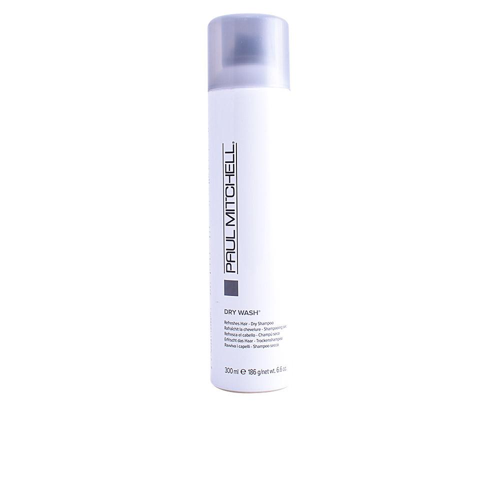 DRY WASH refreshes hair dry shampoo