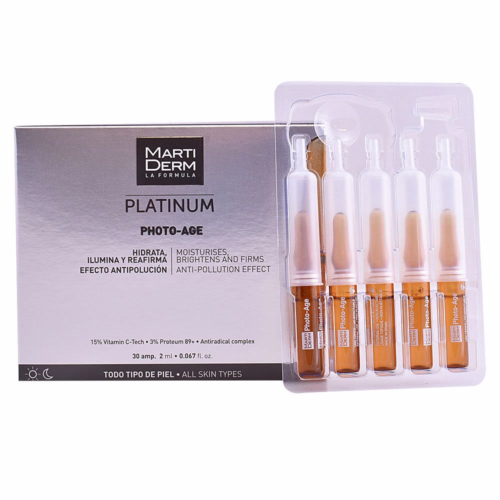 PLATINUM PHOTO-AGE ampoules