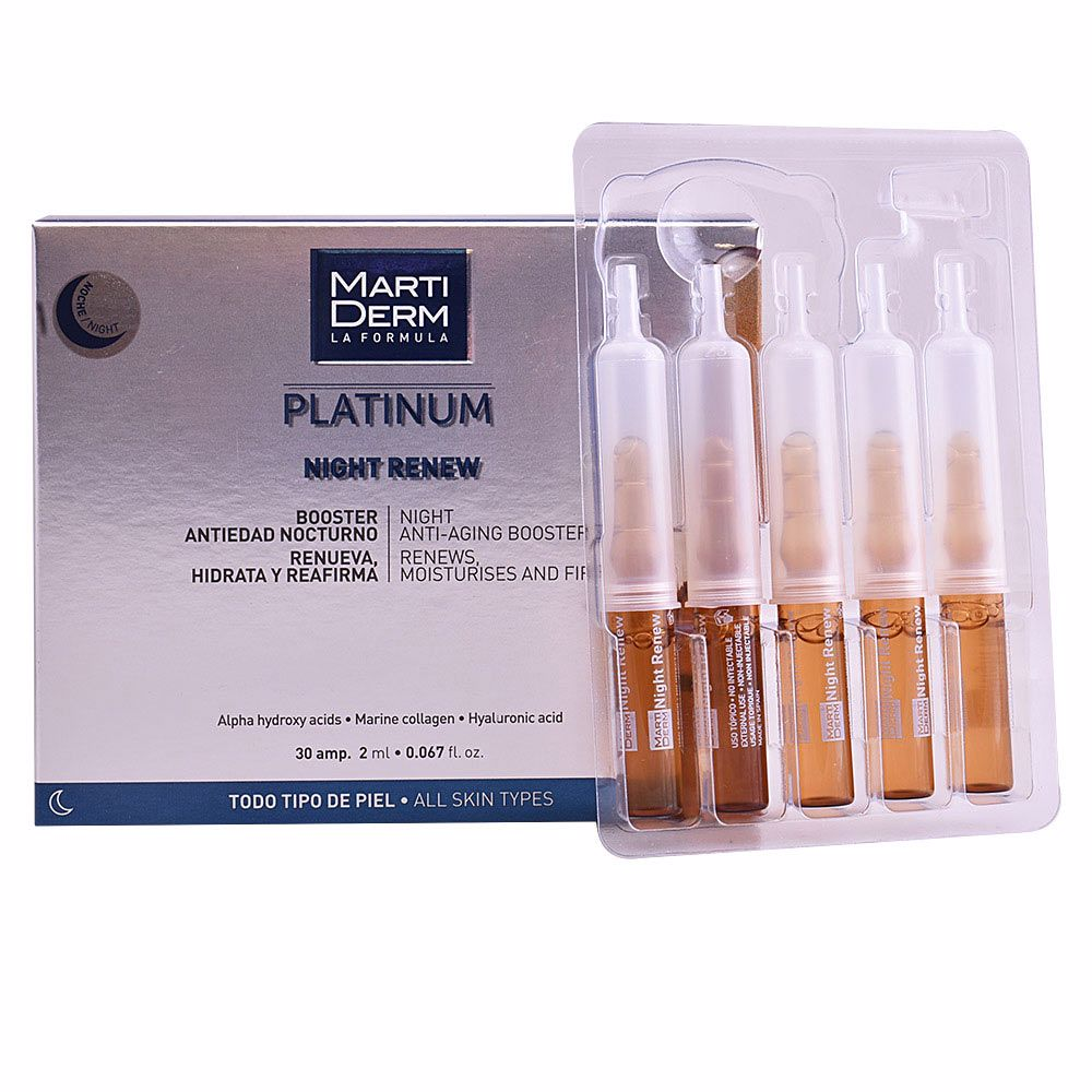 PLATINUM NIGHT RENEW ampoules