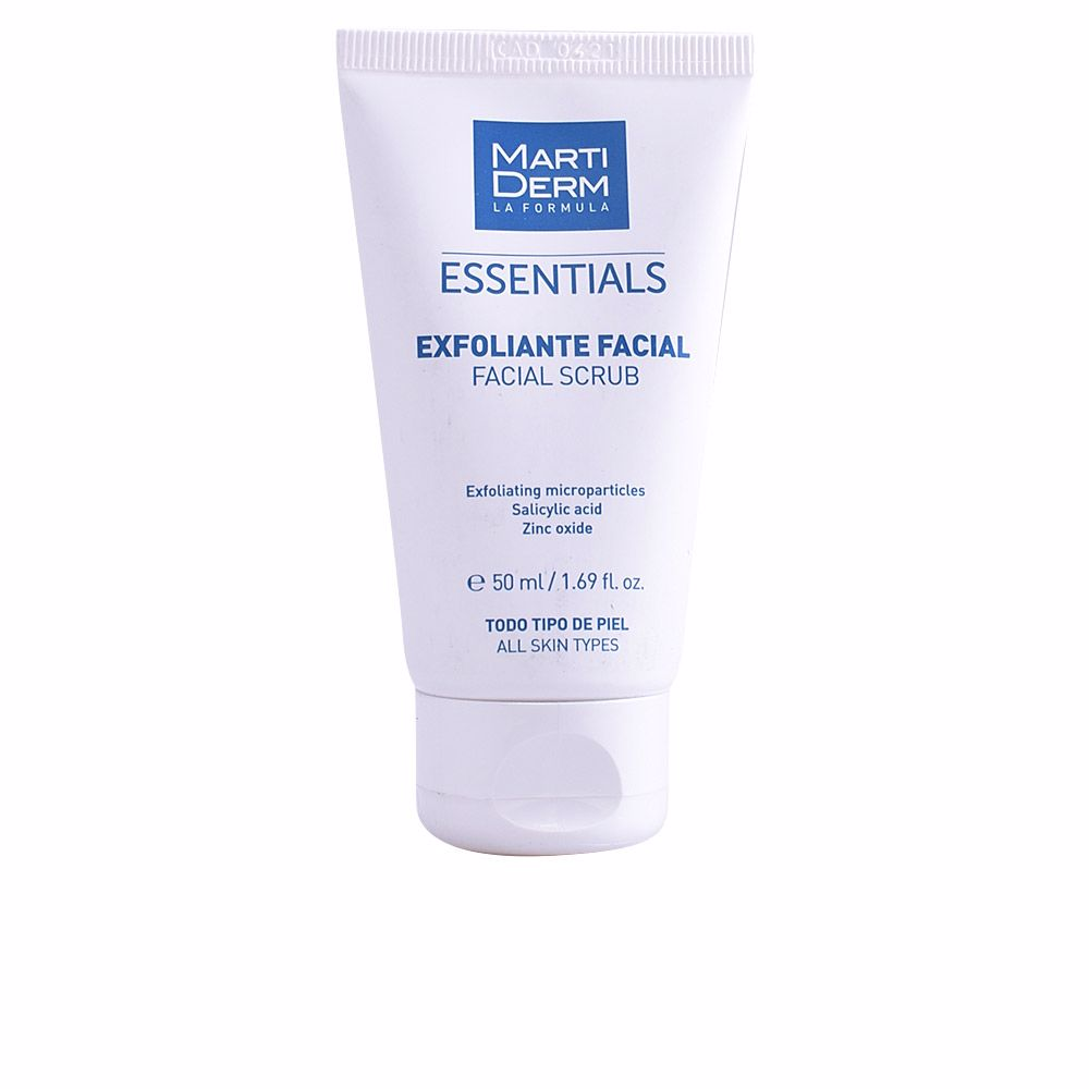 FACE SCRUB exfoliating microparticles