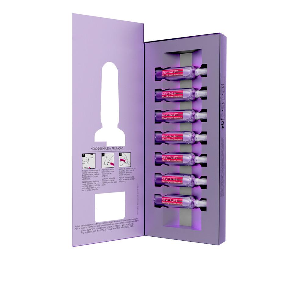 Revitalift Filler Ampollas Hialurónicas Intensivas Antiedad Y Antiarrugas L Oréal París Perfumes Club