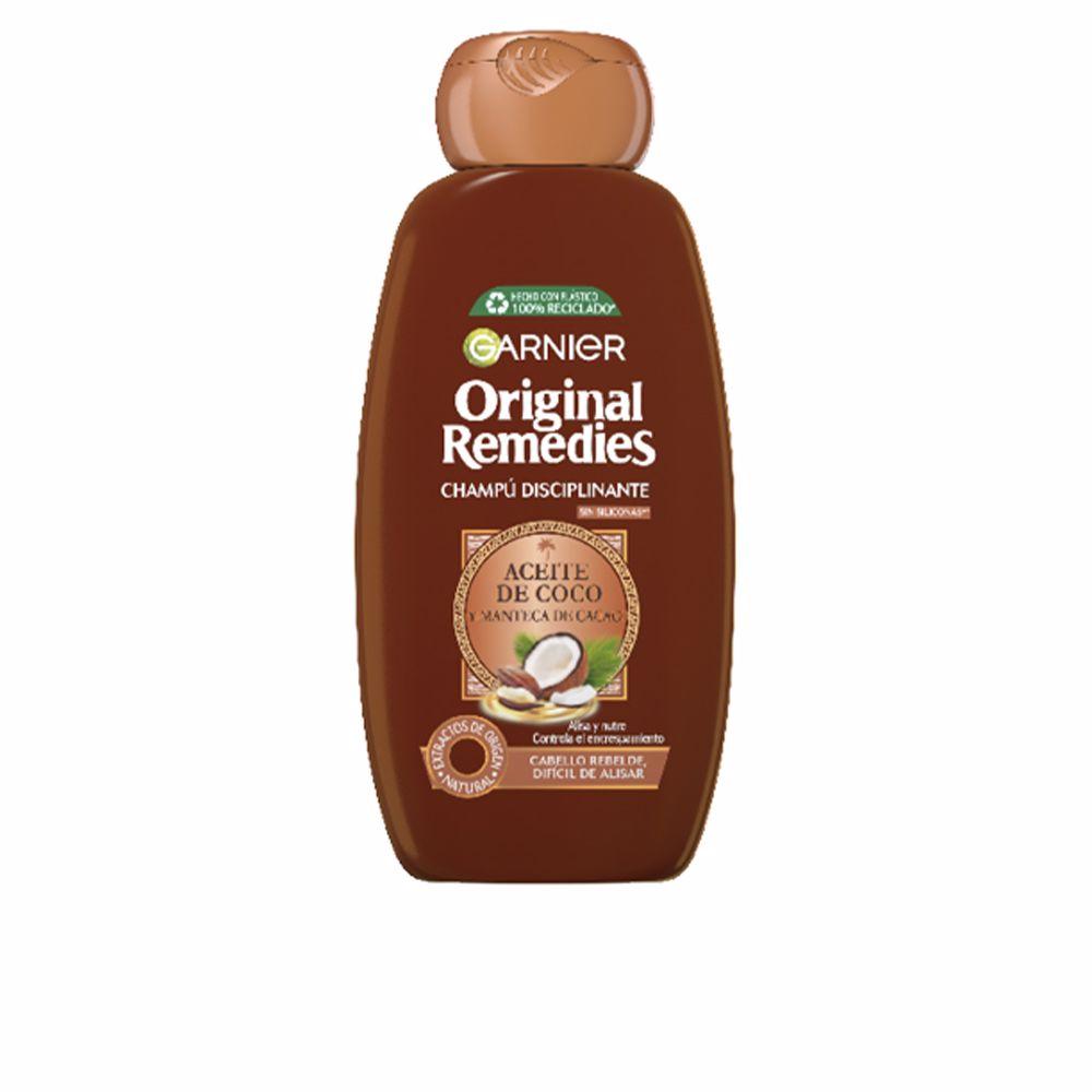 ORIGINAL REMEDIES champú aceite coco y cacao