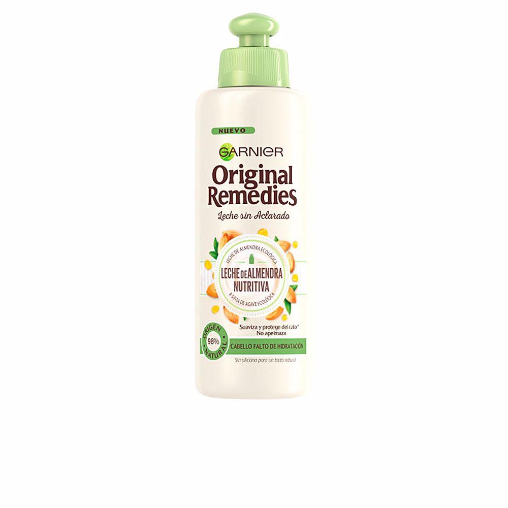 ORIGINAL REMEDIES crema sin aclarado leche almendras