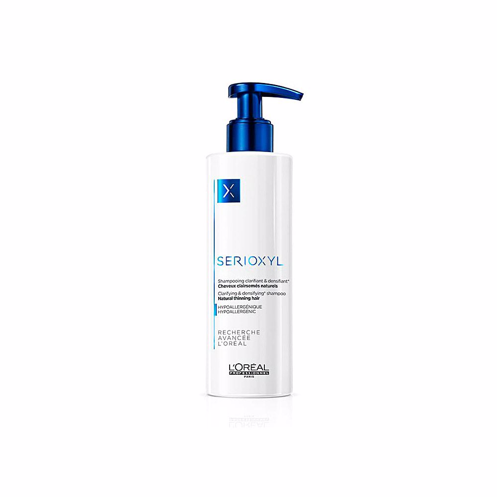 Serioxyl hypoallergenic shampoo natural hair 250 ml