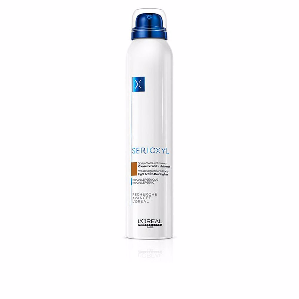 SERIOXYL volume spray color #light brown