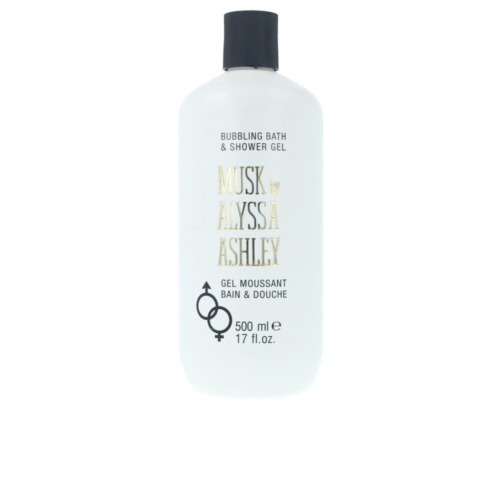 MUSK bubbling bath & shower gel