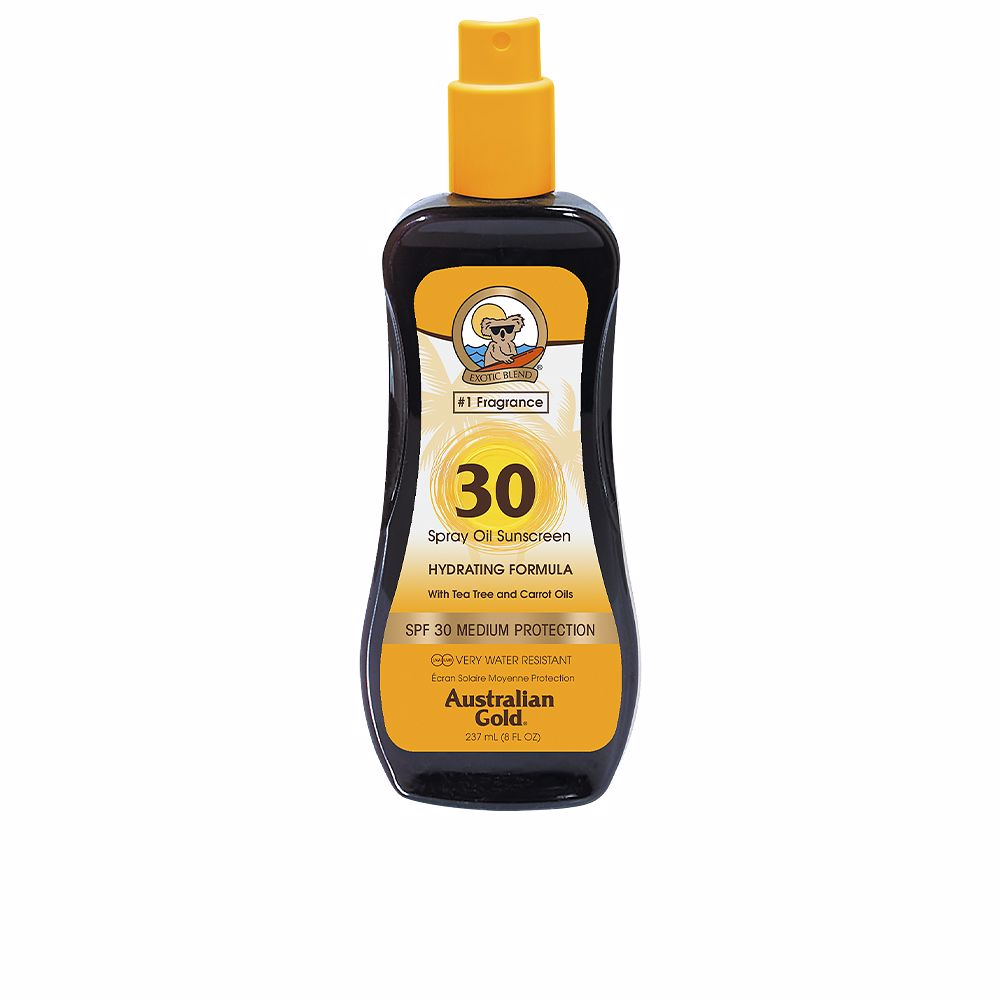 SUNSCREEN SPF30 spray oil hydrating with carrot