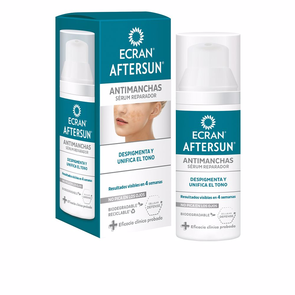 ECRAN AFTERSUN antimanchas serum reparador