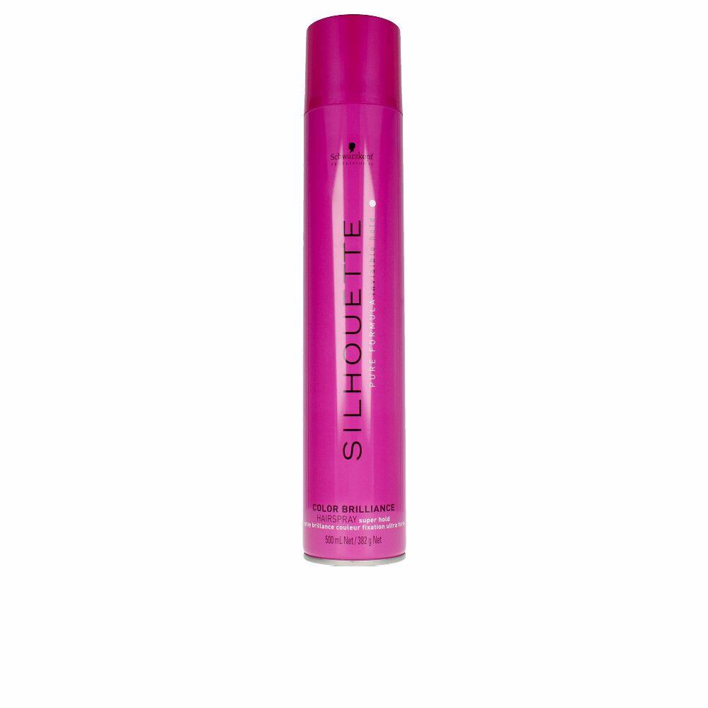 SILHOUETTE color brillance hairspray