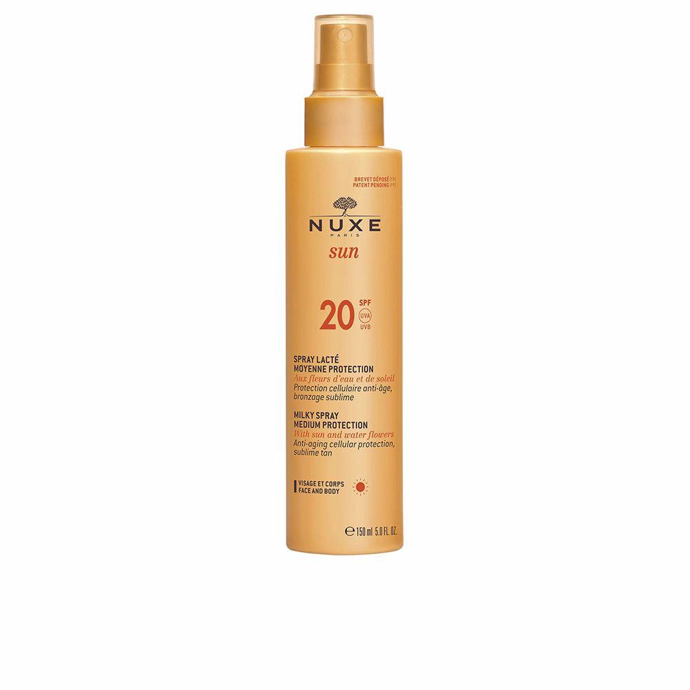 NUXE SUN spray lacté moyenne protection SPF20