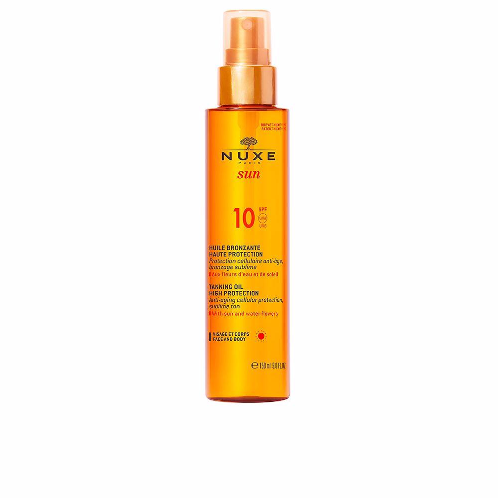 NUXE SUN huile bronzante visage et corps SPF10 spray