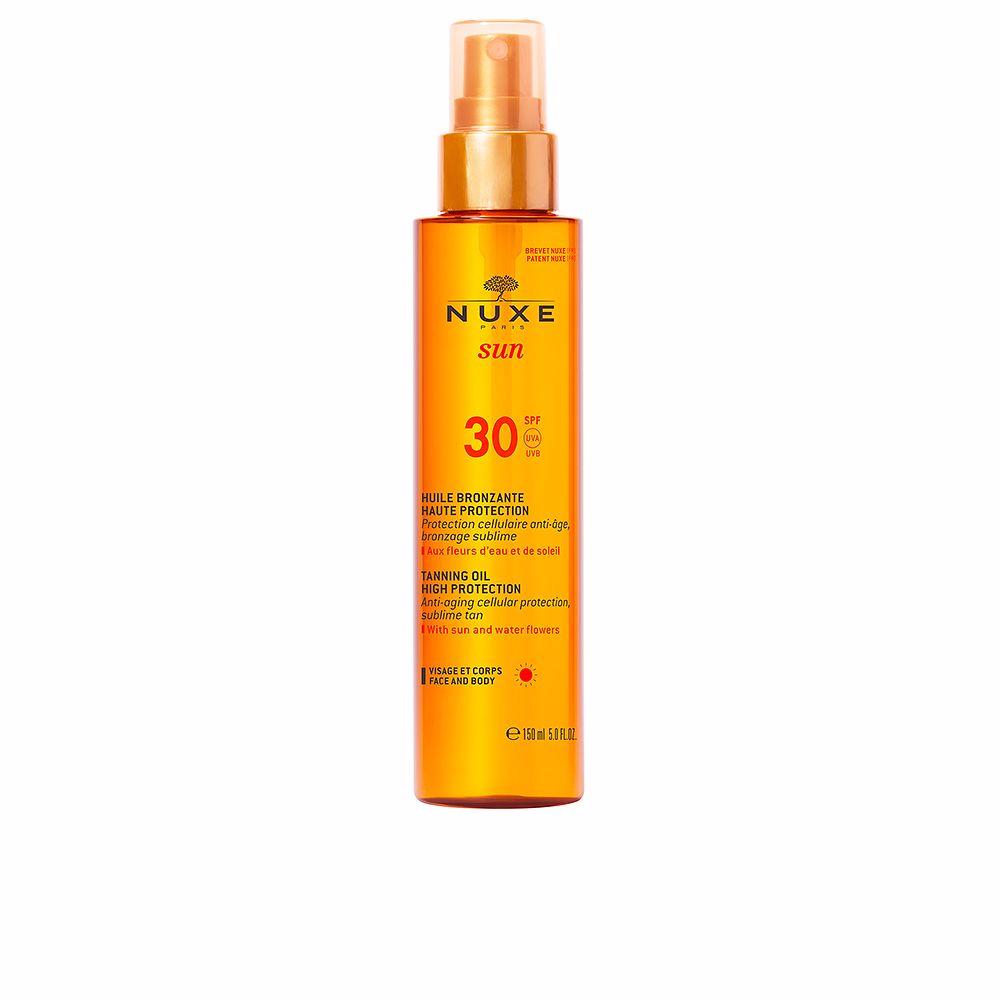 NUXE SUN huile bronzante haute protection SPF30 spray