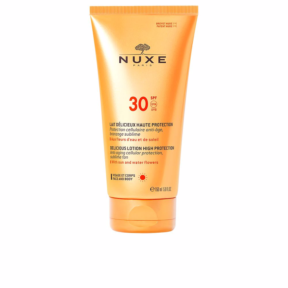 NUXE SUN lait délicieux haute protection SPF30