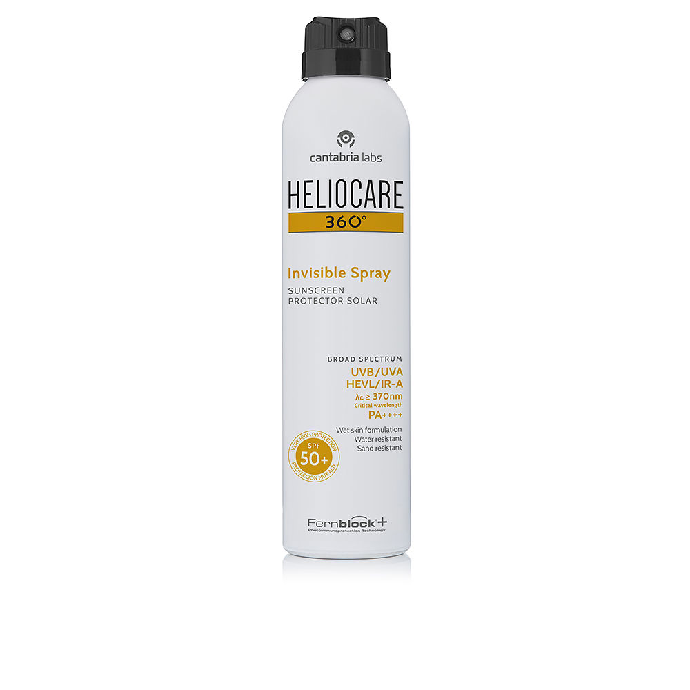 360º INVISIBLE SPF50+ spray