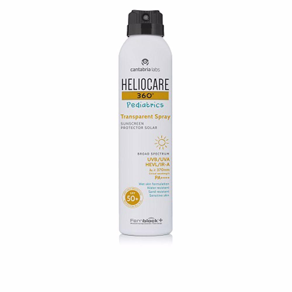 360º PEDIATRICS SPF50+ transparent spray