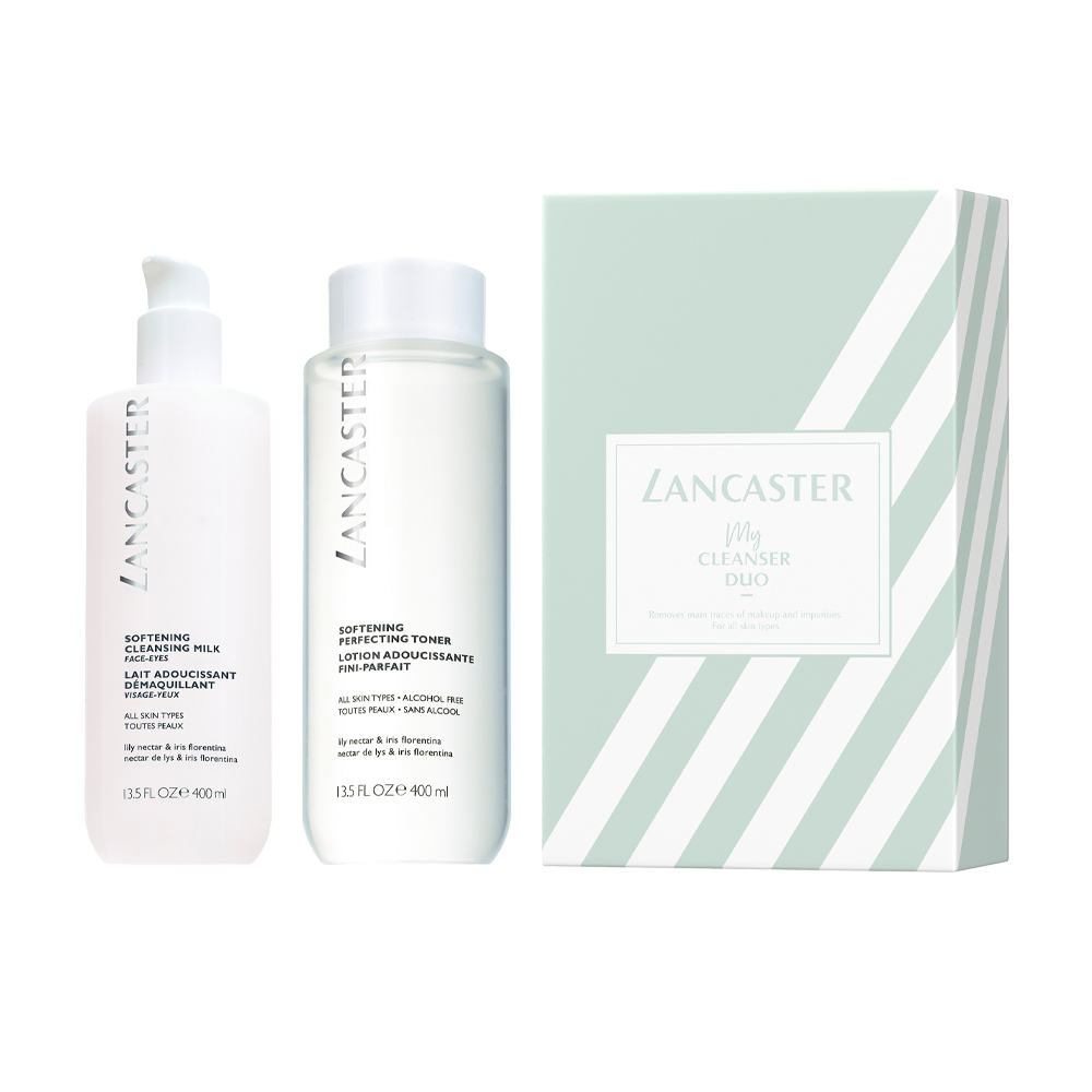 DUO CLEANSING SOFTENING SET