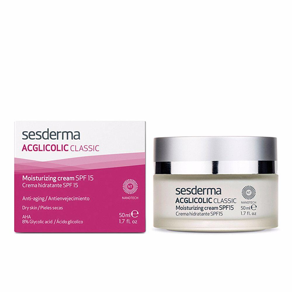 ACGLICOLIC classic crema hidratante SPF15