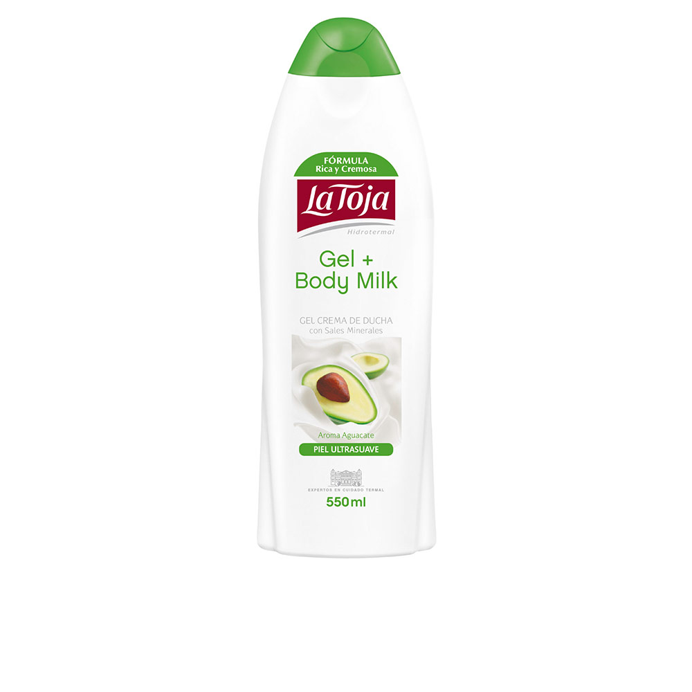 HIDROTERMAL gel ducha crema aguacate