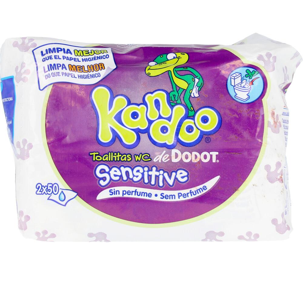 KANDOO toallitas húmedas sensitive