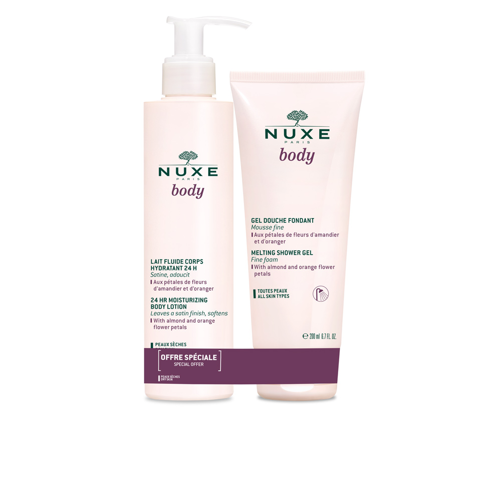 NUXE BODY LAIT CORPS SET