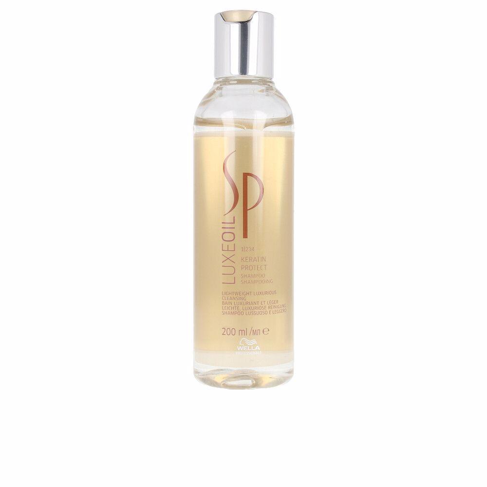 SP LUXE OIL keratin protect shampoo