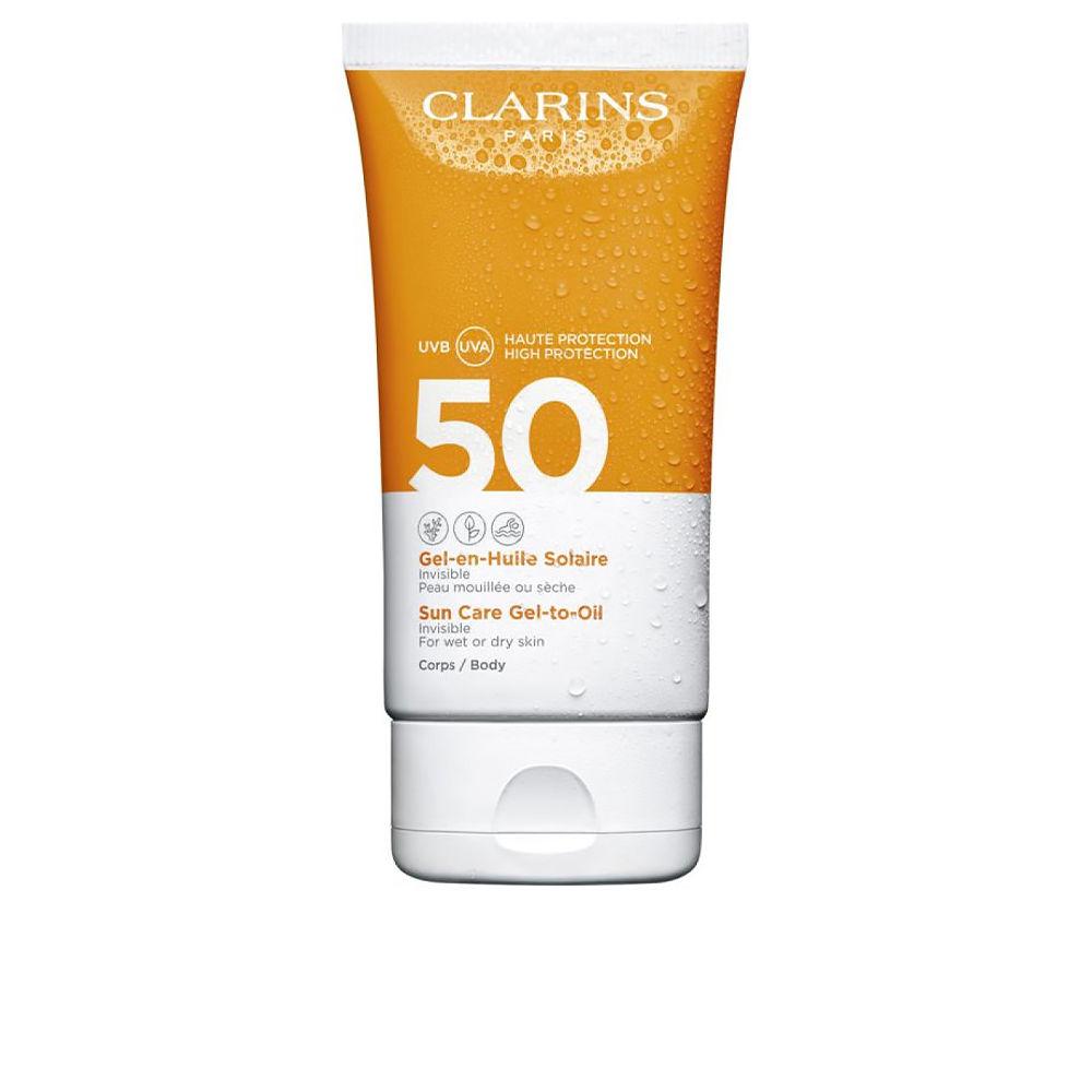 SOLAIRE gel en huile corps SPF50