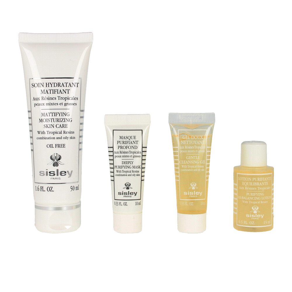 RESINES TROPICALES SOIN HYDRATANT MATIFIANT SET