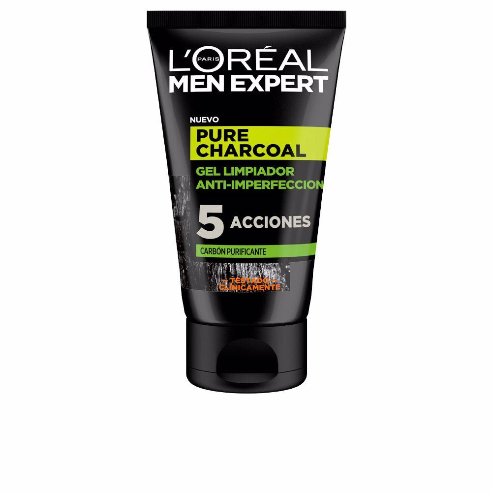 MEN EXPERT pure charcoal gel limpiador purificante