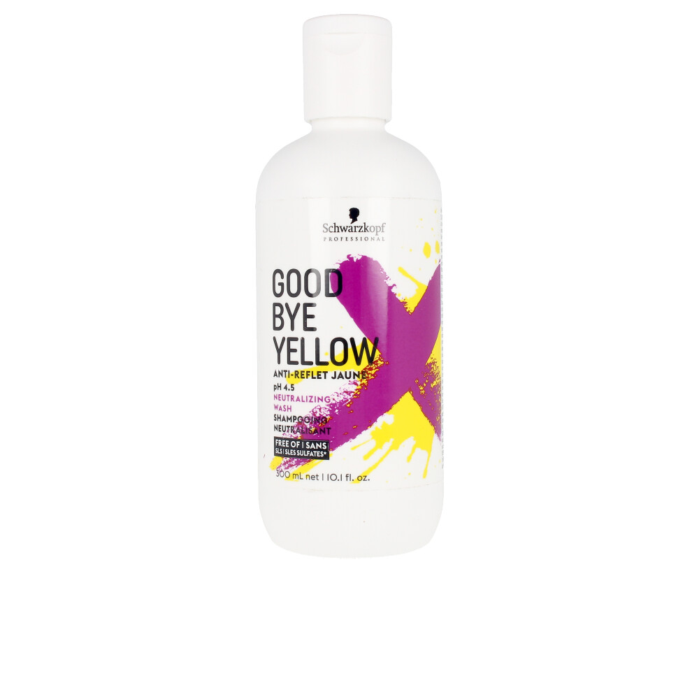 GOODBYE YELLOW neutralizing wash