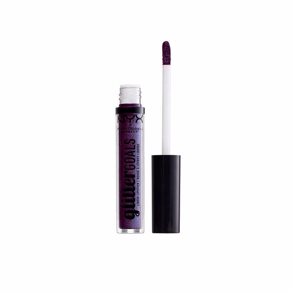 Glitter Goals liquid lipstick #amethyst vibes
