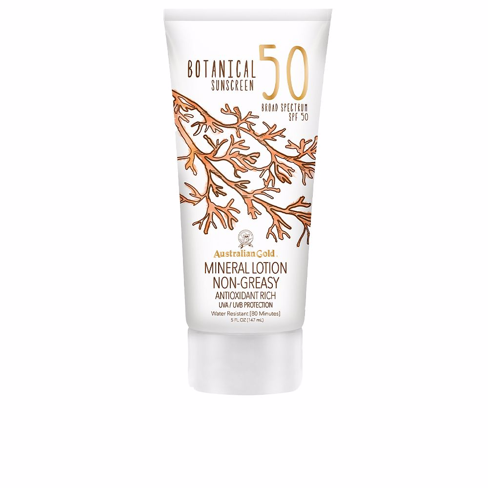 BOTANICAL SPF50 mineral lotion