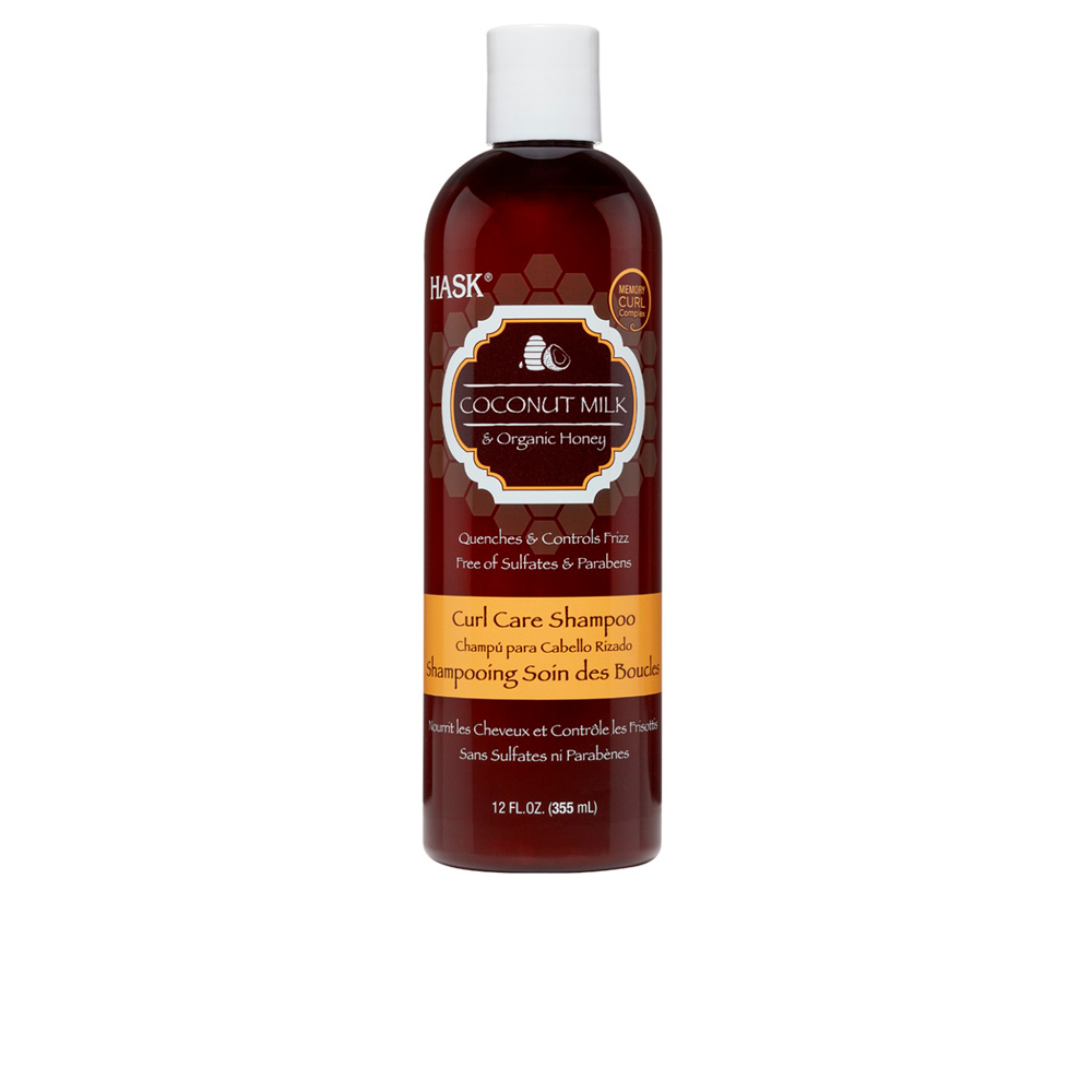 COCONUT MILK & HONEY curl care shampoo